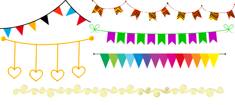 Bunting, Banners, Party, Garland, Decoration, Banner