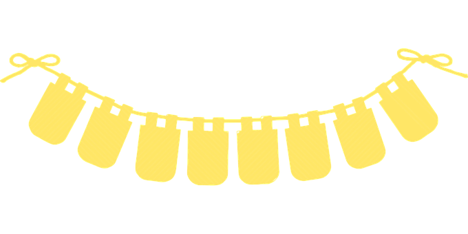 Bunting, Banner, Stripes, Garland, Decoration