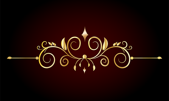 Golden Border, Ornament, Design