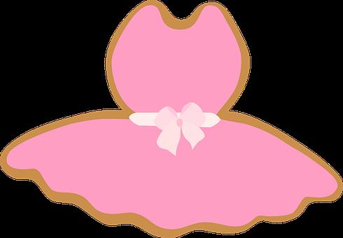 Ballet Dress, Dress, Girly, Pink, Ribbon