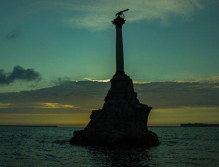 Russia, Crimea, Sevastopol, Embankment