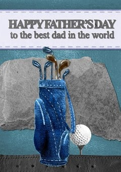 Happy Father'S Day, Greeting, Card