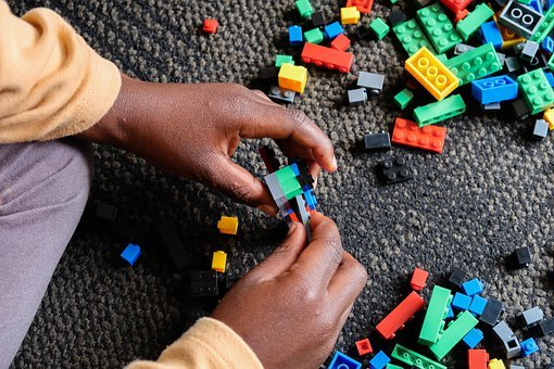Hands, Playing, Child, Play, Toy, Blocks, African