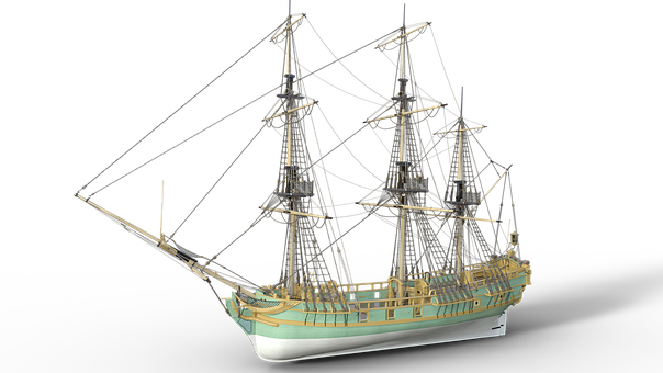 Sailing Vessel, Transport, Sea, Ship