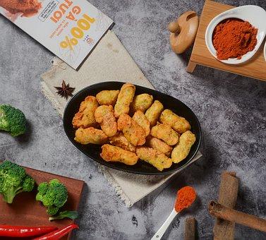 Sweet Potato, Fried Sweet Potatoes, Fast Food