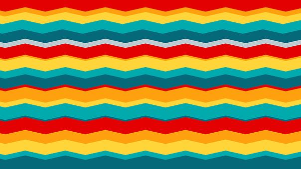 Retro, Colors, 60, Background, Colorful, Paper Retro