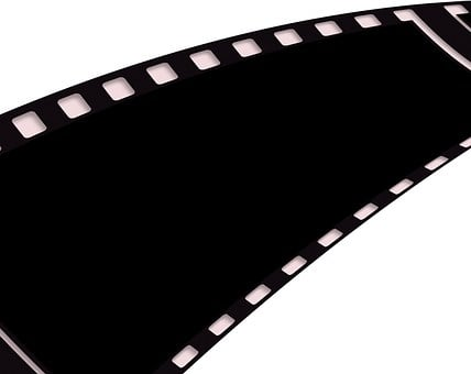 Film, Filmstrip, Black, Photograph, Video, Analog
