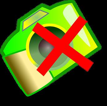 No Photos, No Photography, Symbol
