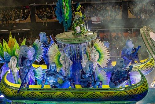 Samba School, Rio Carnival, Vila Isabel, The Sambodromo