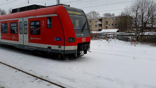 Bahn, Red, Snow, Don't Get In, Train, Snow Chaos