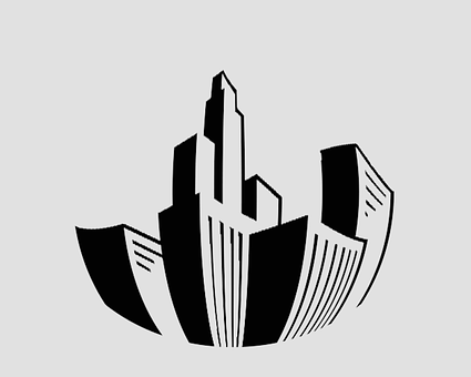 Building, Drawing, Abstract, Logo, City, Construction