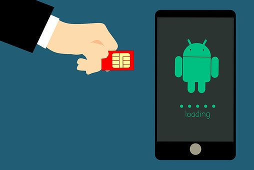 Card, Chip, Phone, Sim, Insert, Cellular, Hand