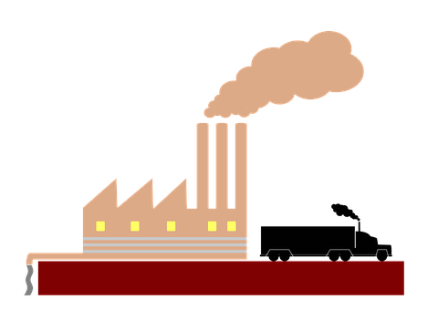 Pollution, Waste, Environment, Factory, Industry, Smoke