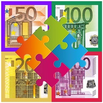 Puzzle, Money, Euro, Seem, Arrangement, Components