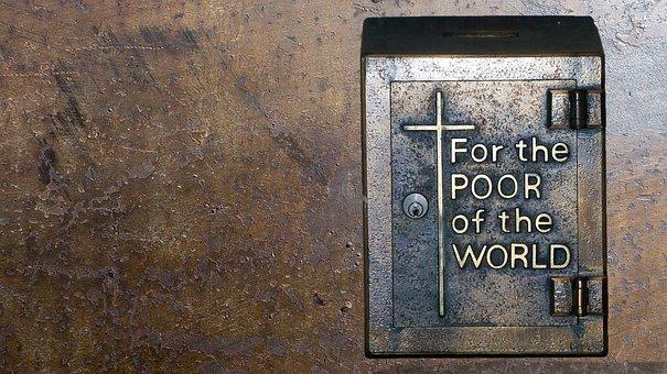 Poor Box, Church, Charity, Donate, Volunteer, Giving