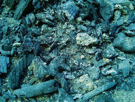 Nature, Landscape, Ash, Koster, Coals