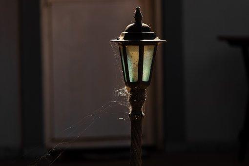 Lamp, Mast, Light