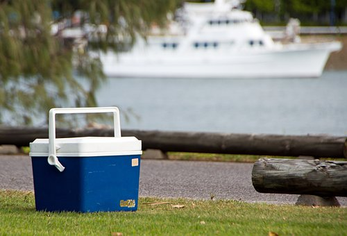 Esky, Summer, Park, Boat, Fun, Outdoors