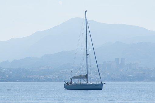 Yacht, Sailing Boat, Sail, Sea, Ship