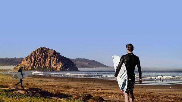 Surfing, Surfers, Water, Beach, Surf, Ocean, Vacation