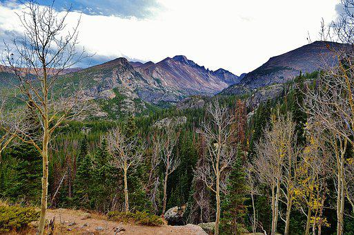 Rockies, Colorado, Rocky Mtn, National Park, Landscape