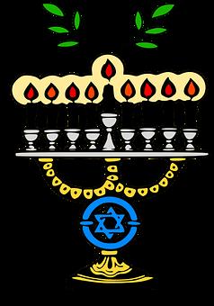 Menorah, Candelabra, Candelabrum, Candle, Hannukah