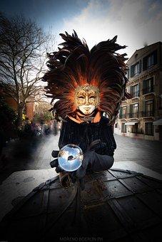 Carnival, Venice, Mask, Mysterious