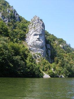 Decebalus, Sculpture, Monument, Nature