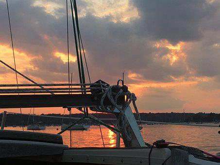 Oyster Bay, Newyork, Long Island Sound, Ny, Sailing