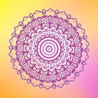 Mandala, Zen, Boho, Bohemian, Ornament