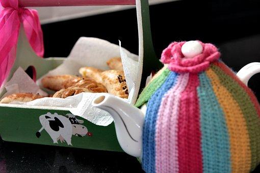 Tea, Teapot, Tea Time, Pastry, Beverage, Hot, Breakfast