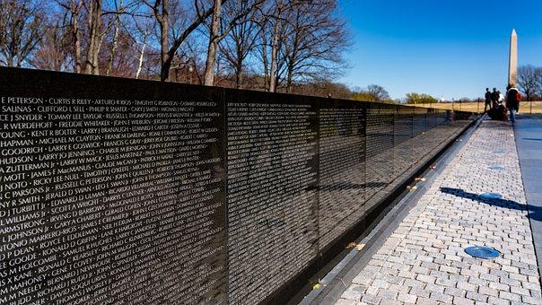 Vietnam Veteran, Memorial, War, Military