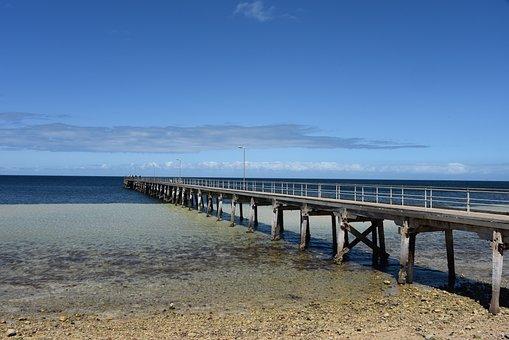 Jetty, Wool Bay, South Australia, Yorke Peninsula