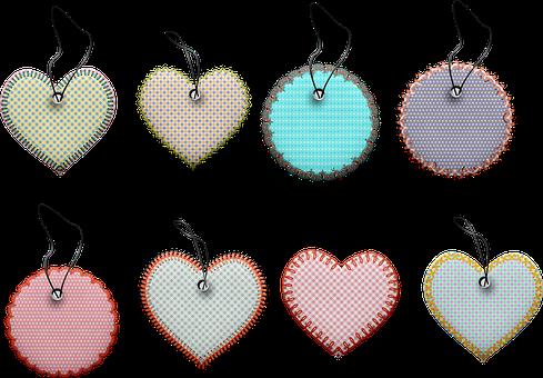 Pattern Stitched Labels, Tags, Frames, Sale, Banner