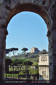 Italy, Rome, European, Building, Italian