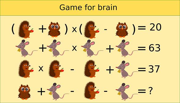 Puzzle, Math, Logic, Mathematics, Kids, Employing