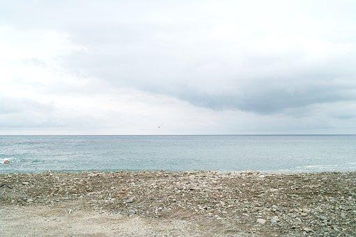 Beach, Sea, Ocean, Sky, Landscape, Sand, Nature, Cloud