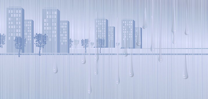 Rain, Thunderstorm, The Shower, Weather, Landscape