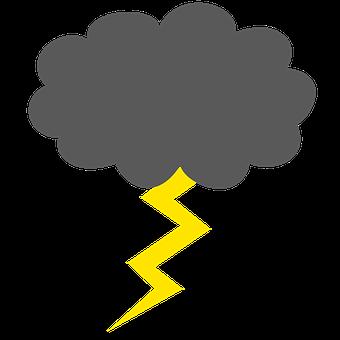 Flash, Thunderstorm, Silhouette, Flash Of Lightning