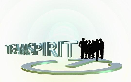Personal, Group, Team Spirit, Arrow