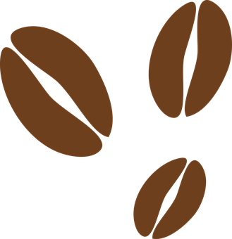 Coffee, Bean, Icon, Element, Shiny, Sign, Natural, Seed