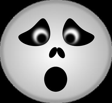 Skull, Spooky, Ghost, Emoticon, Smiley, Smilies