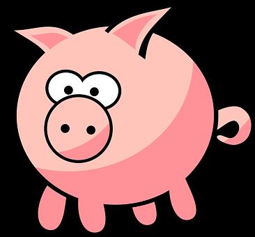 Animal, Cartoon, Farm, Farm Animal, Oink