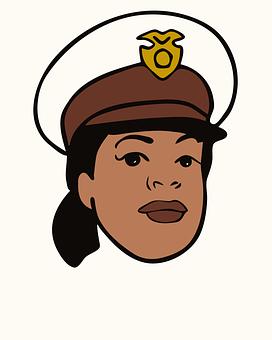 Avatar, Face, Female, Police, Woman