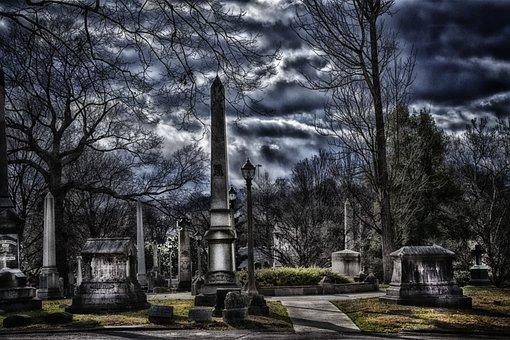 Graveyard, Ghosts, Cemetery, Spooky, Haunted
