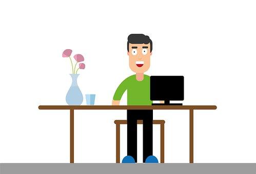 Home Office, Corona, Homework, Computer, Covid-19
