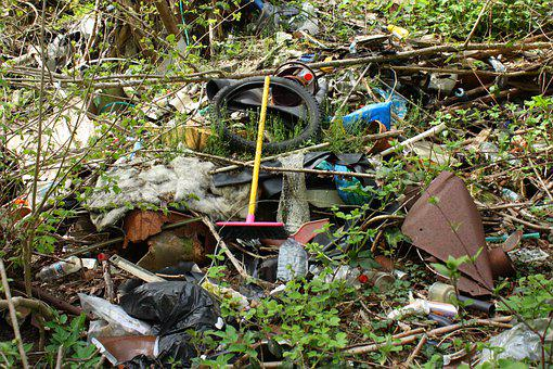 Waste, Nature, Discharge, Environment, Pollution