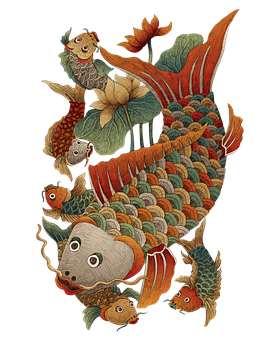 Fish With Lotus, Your Fish, Fish