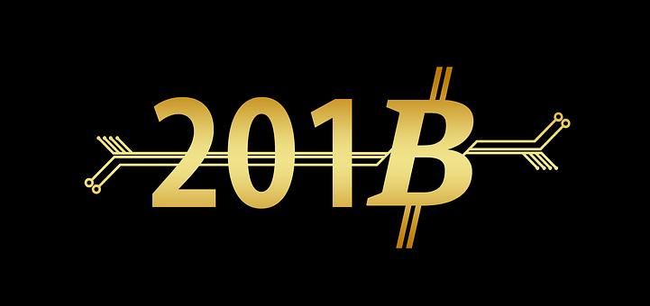 Bitcoin, New Year'S Day, Coin, Money