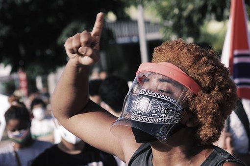 Democracy, Protest, Demonstration, Brazil, Anti-racism